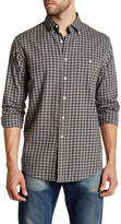 Pendleton Long Sleeve Gingham Heathered Classic Fit Shirt