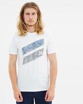 Hurley Icon Slash Pull Through T-Shirt