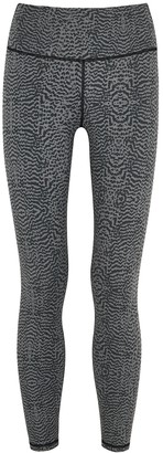 Varley Luna Printed Cropped Leggings