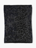 John Varvatos Jacquard Neck Warmer