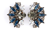 Anton Heunis Crystal Fan Earrings