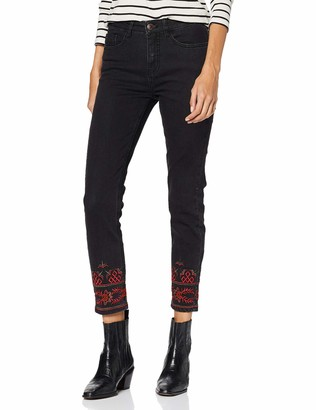 Desigual Women's Trousers Calipso Slim Jeans