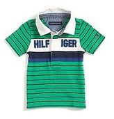 Tommy Hilfiger Little Boy's Signature Striped Rugby
