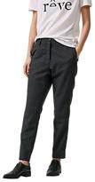 Selected Soren Pant Trousers, Dark Grey Melange