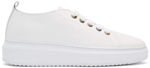 Manebi White Bold Sneakers