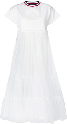 Moncler T-shirt tulle dress