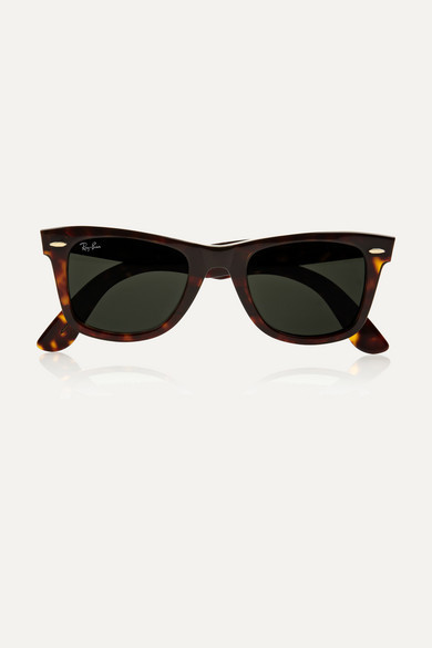 Ray-Ban The Wayfarer Acetate Sunglasses - Tortoiseshell
