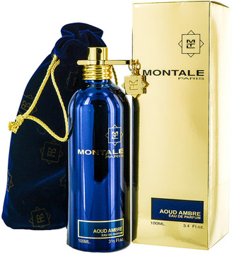 Montale 3.3Oz Aoud Ambre Eau De Parfum Spray