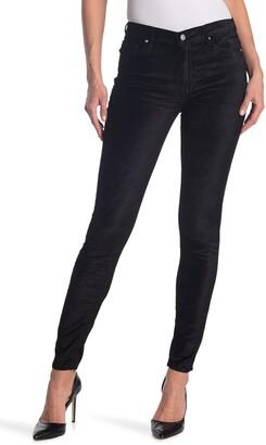Black Orchid Jude Mid Rise Super Skinny Velvet Jeans