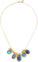 Pippa Small 18-karat Gold Labradorite Necklace - one size