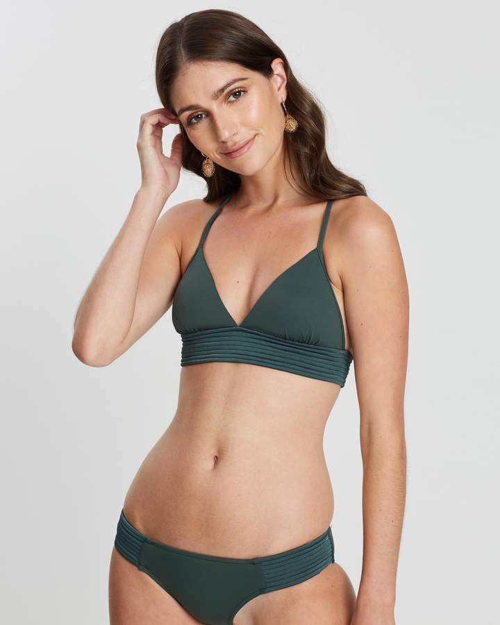 Seafolly Quilted Fixed Tri Bikini Top