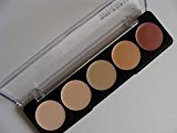 Make Up For Ever 5 Camouflage Cream Palette - #2 (Asian Complexions) - 10g/0.35oz
