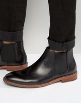 Dune Mencia Leather Chelsea Boots