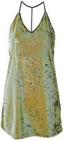 Oh My Love **T-Bar Sequin Slip Dress