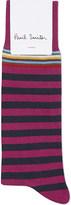 Paul Smith Multistripe cotton socks