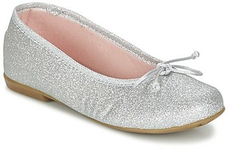 Citrouille et Compagnie GLIGLO girls's Shoes (Pumps / Ballerinas) in Silver