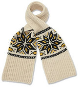Marie Chantal Fairisle Scarf