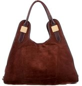 Rachel Zoe Leather Trimmed Tote