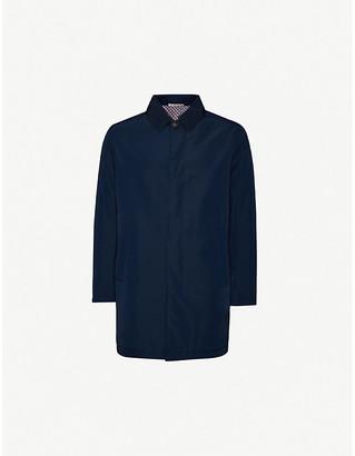 Pal Zileri Padded buttoned shell raincoat
