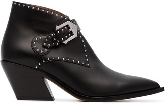 Givenchy Elegant 60mm studded ankle boots