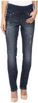Jag Jeans Malia Pull-On Slim Comfort Denim in Flatiron