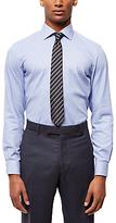 Jaeger Houndstooth Slim Fit Shirt, Blue