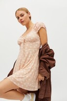 Thumbnail for your product : Urban Outfitters Audrey Mesh Mini Dress