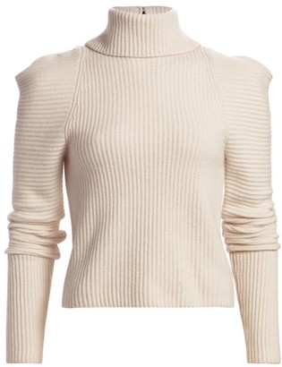 A.L.C. Maura Puff-Sleeve Turtleneck Sweater