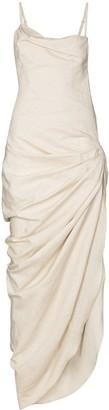 Jacquemus Saudade asymmetric dress