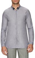 The Kooples Spread Collar Grosgrain Sportshirt