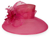Giovannio Flower-Accented Derby Hat