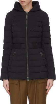 Mackage 'Kaila' cinched waist hooded puffer coat