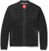 Nike Cotton-Blend Tech Fleece Varsity Jacket