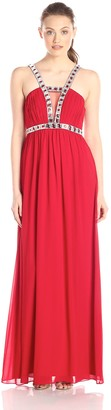 Minuet Women's Embellished Strap Long