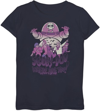 """Girls 7-16 Scooby-Doo """"Where Are You"""" Mystery Gang Graphic Tee"""