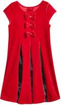 Good Lad Pleated Velvet Dress, Toddler Girls