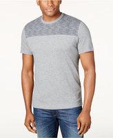 Alfani Men's Pattern-Blocked T-Shirt, Only at Macy's