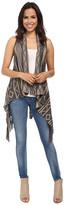 BB Dakota Damen Jacquard w/ Fringe Sweater Vest