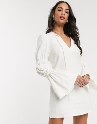 Vestire out of sight shift dress in ivory