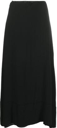 Marc Le Bihan High-Waisted Flared Skirt