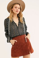 Free People Midnight Memory Skirt by Free People, Dried Tobacco, 25