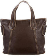 Tod's Brown Leather Satchel