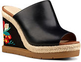 Nine West VIP Leather Wedge Sandals