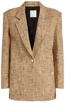 Sandro Paris Tweed Blazer