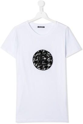 Balmain Kids TEEN sequinned T-shirt
