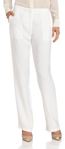 BCBGMAXAZRIA Women's Joelle Cropped Linen Pant