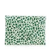 Oscar de la Renta Green Leather Handbag