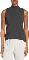 Eileen Fisher Women's Lightweight Tencel Lyocell Stretch Jersey Top