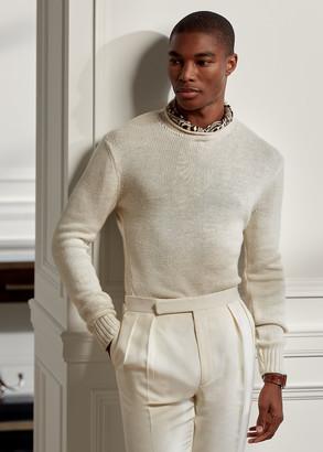 Ralph Lauren Silk-Linen Rollneck Sweater