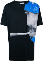Les Benjamins cigarette print T-shirt - men - Cotton - XXL